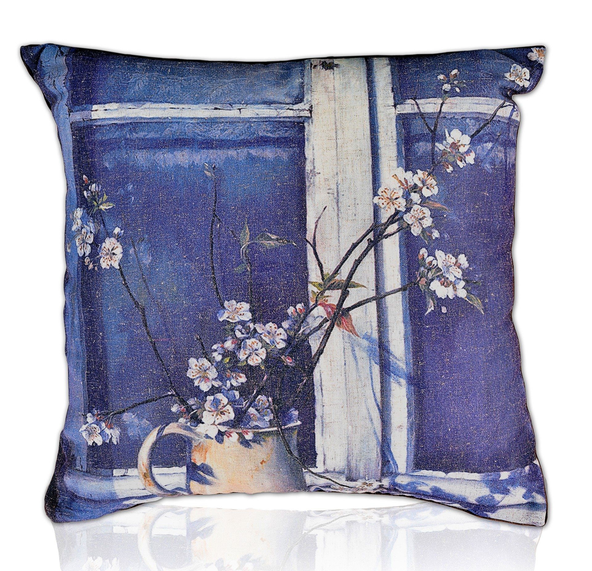 Echo Floral Print Cushion Cover