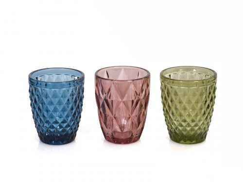 Multicolour Tumbler Glasses