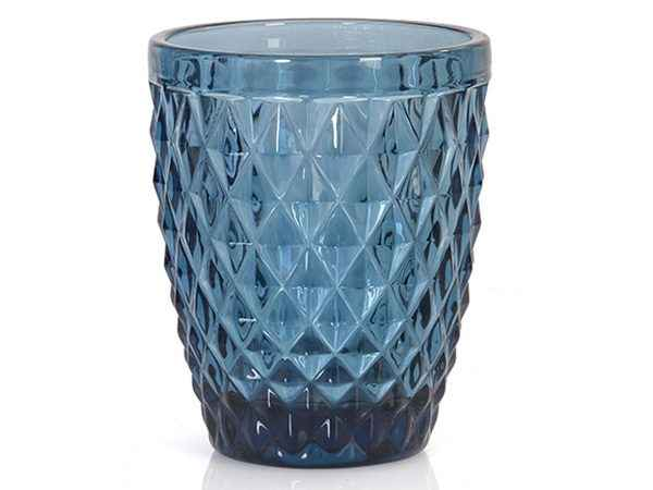 colour drinking glassware blue