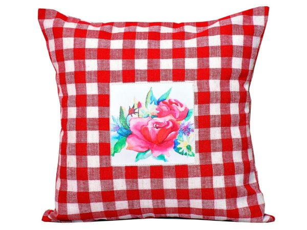 Designer cushion pillow cover